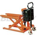 1吨电动剪式升高液压搬运车(无平台宽叉)