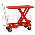 1吨重型脚踏单剪式升降平台车